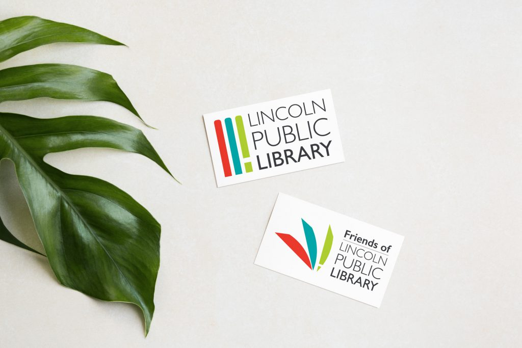images of logos designed for a public library