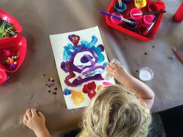 Yoga and Art Story Time