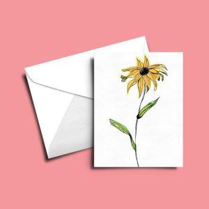 Floral Art Cards