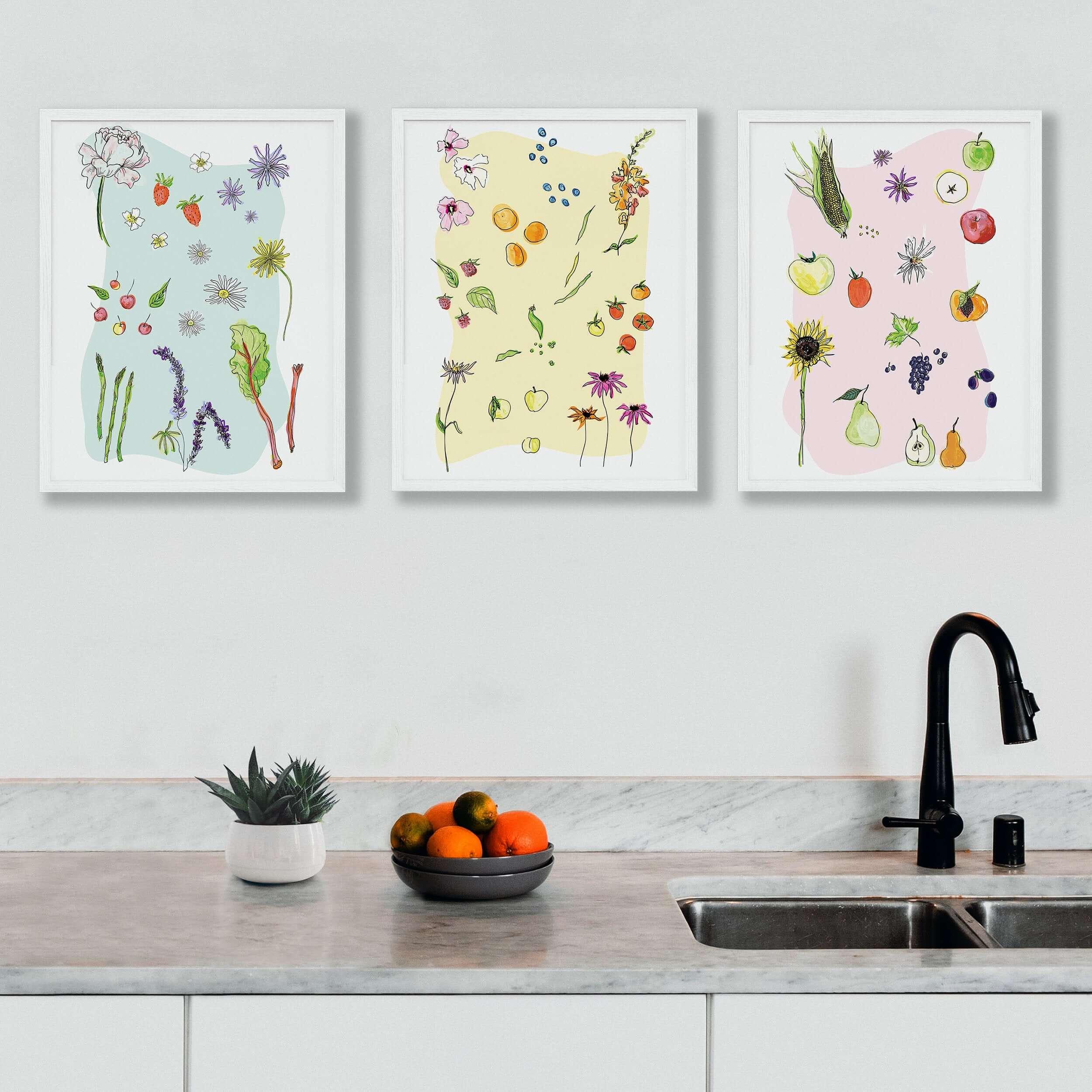 Wildflower Art Prints & Cards