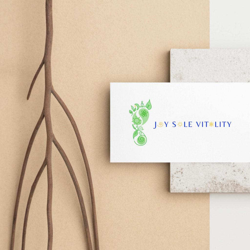 Joy Sole Vitality Logo Design