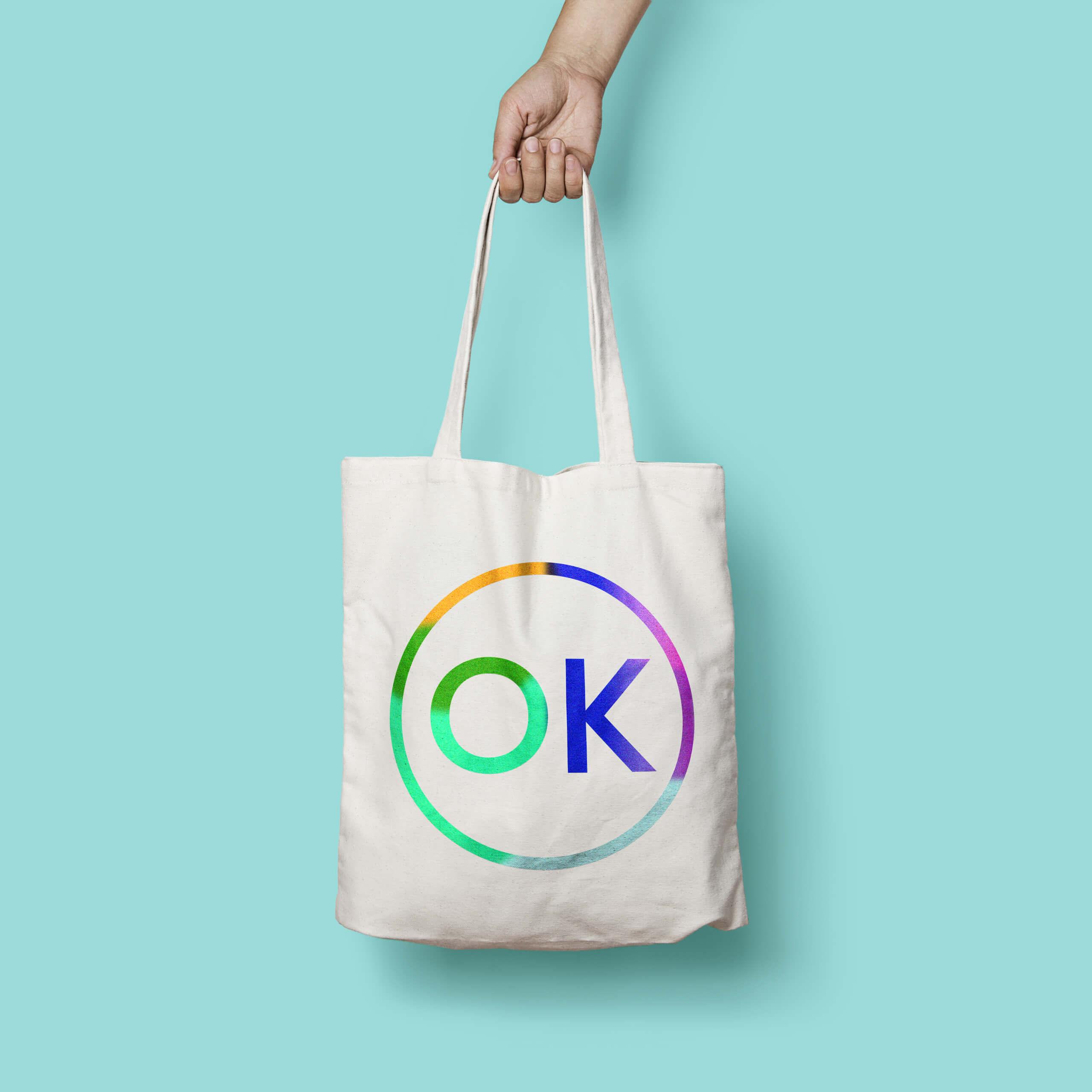 OK Stamp Press Tote Bag Design