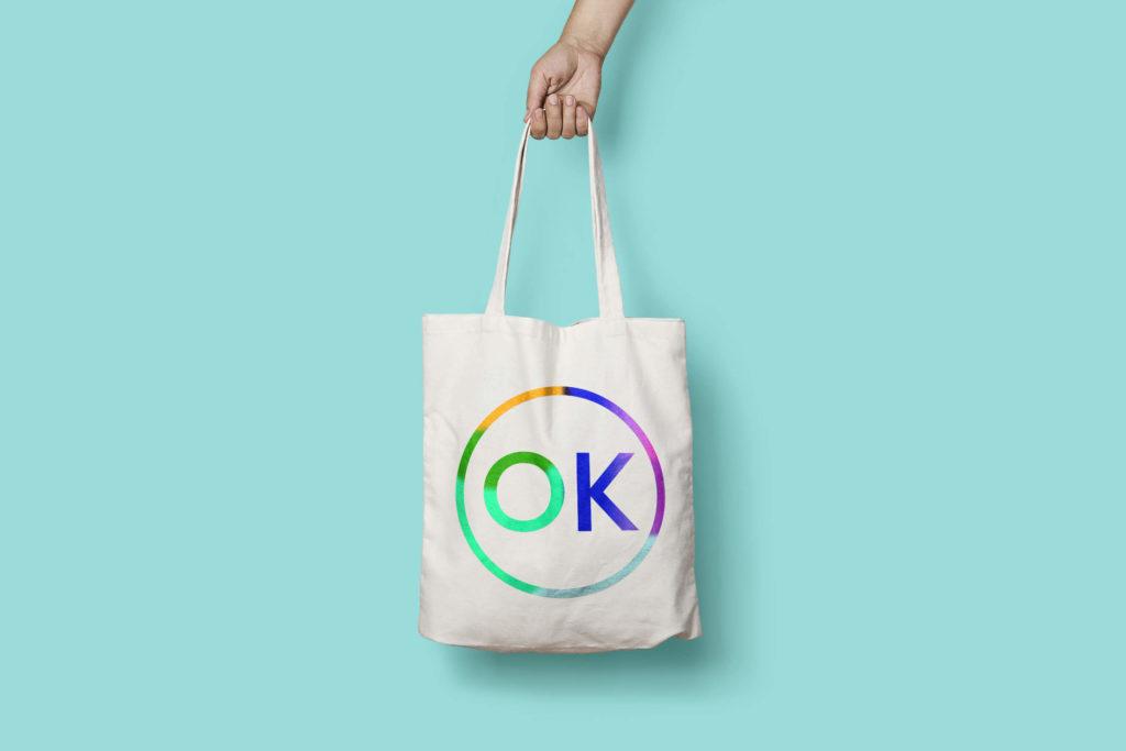OK Stamp Press Tote Bag